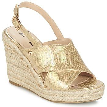 Topánky Ženy Sandále Elle CAMPO Béžová / Zlatá