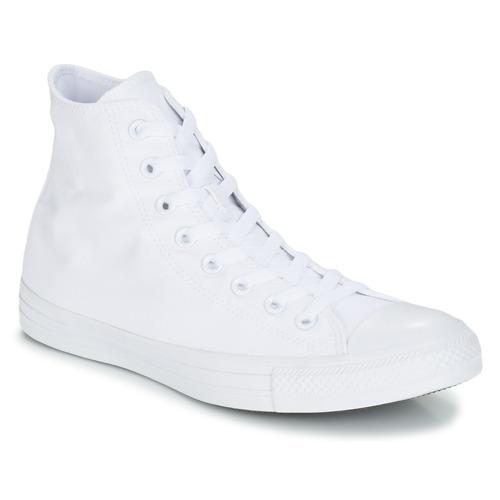 Topánky Členkové tenisky Converse CHUCK TAYLOR ALL STAR MONO HI Biela