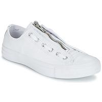 Topánky Muži Nízke tenisky Converse CHUCK TAYLOR ALL STAR MA-1 ZIP MILITARY LEATHER OX Biela