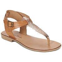 Topánky Ženy Sandále Betty London VITALLA ťavia hnedá / Ružová