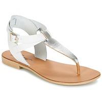 Topánky Ženy Sandále Betty London VITALLA Strieborná / Biela