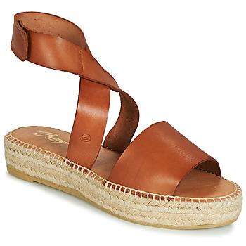 Topánky Ženy Sandále Betty London EBALUIE Ťavia hnedá