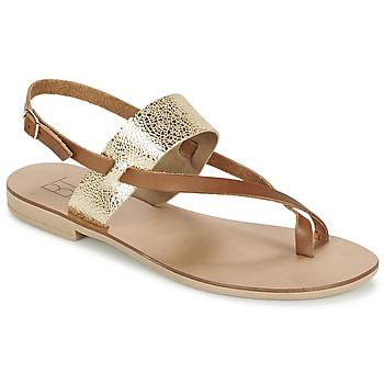 Topánky Ženy Sandále Betty London EVACI ťavia hnedá / Zlatá