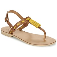 Topánky Ženy Sandále Betty London ELOINE Hnedá / Žltá