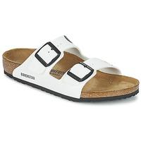 Topánky Deti Šľapky Birkenstock ARIZONA Biela