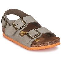 Topánky Chlapci Sandále Birkenstock MILANO Hnedošedá