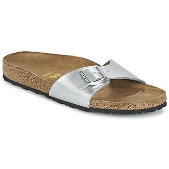 Topánky Ženy Šľapky Birkenstock MADRID Strieborná