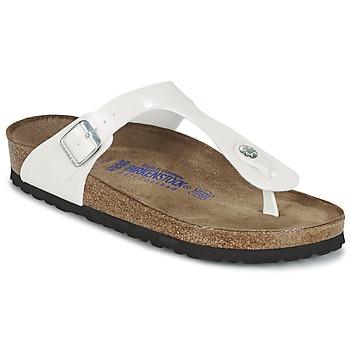 Topánky Ženy Žabky Birkenstock GIZEH Biela