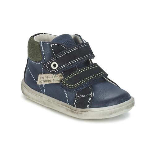 Topánky Chlapci Polokozačky Primigi CHRIS Modrá
