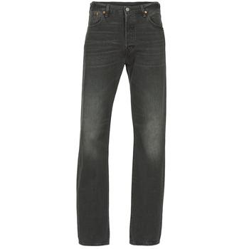 Oblečenie Muži Rovné džínsy Levi's 501 čierna / Range / P8013