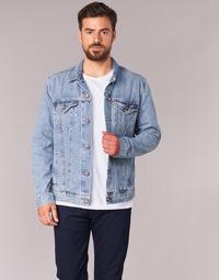 Oblečenie Muži Džínsové bundy Levi's THE TRUCKER JACKET Modrá