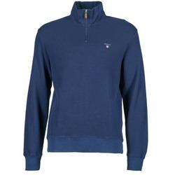 Oblečenie Muži Svetre Gant HONEYCOMB SWEAT Námornícka modrá