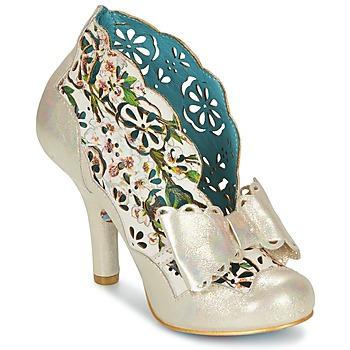 Topánky Ženy Nízke čižmy Irregular Choice SASSLE Iris / Béžová /  kvetinová potlač