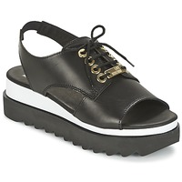 Topánky Ženy Sandále Love Moschino BASIC SANDAL čierna / Biela