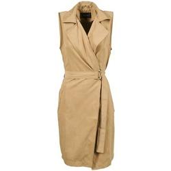 Oblečenie Ženy Kabátiky Trenchcoat Vila VIEMMELY Béžová