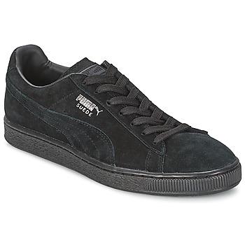 Topánky Nízke tenisky Puma SUEDE CLASSIC Čierna / Šedá