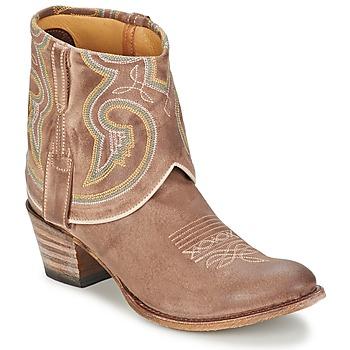 Topánky Ženy Polokozačky Sendra boots 11011 Hnedošedá