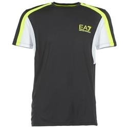Oblečenie Muži Tričká s krátkym rukávom Emporio Armani EA7 VENTUS7 čierna