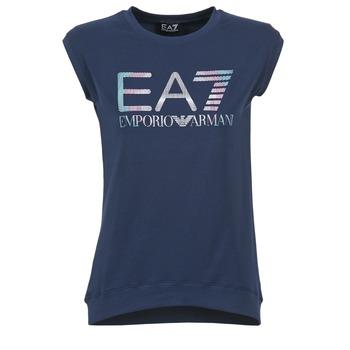 Oblečenie Ženy Tričká s krátkym rukávom Emporio Armani EA7 ANDROUL Námornícka modrá