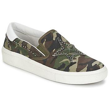 Topánky Ženy Slip-on Ash NIKITA Zelená