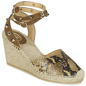 Topánky Ženy Sandále Ash WINONA Zlatá