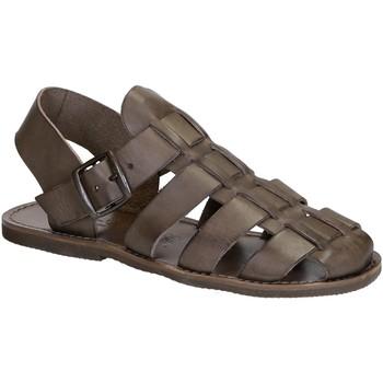Topánky Ženy Sandále Gianluca - L'artigiano Del Cuoio 502 U FANGO GOMMA Fango
