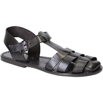 Topánky Ženy Sandále Gianluca - L'artigiano Del Cuoio 501 D NERO CUOIO nero