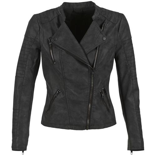 Oblečenie Ženy Kožené bundy a syntetické bundy Only AVA Čierna
