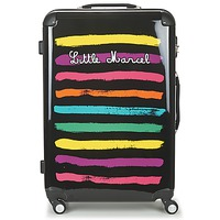 Tašky Pevné cestovné kufre Little Marcel MALTE-75 čierna / Viacfarebná