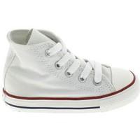 Topánky Deti Detské papuče Converse All Star Hi BB Blanc Biela