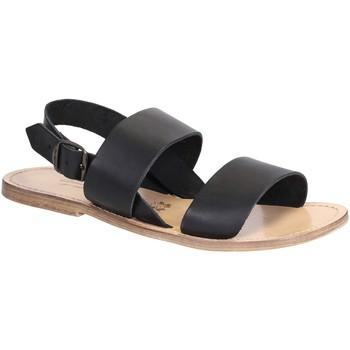 Topánky Ženy Sandále Gianluca - L'artigiano Del Cuoio 500X U NERO LGT-CUOIO nero