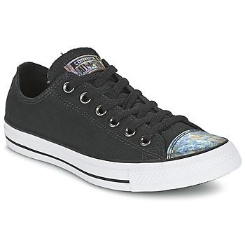 Topánky Ženy Nízke tenisky Converse ALL STAR OIL SLICK TOE CAP OX Čierna