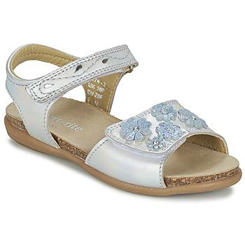 Topánky Dievčatá Sandále Start Rite SUMMERS DAY Strieborná