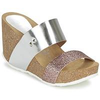 Topánky Ženy Šľapky Ganadora FLORA Strieborná