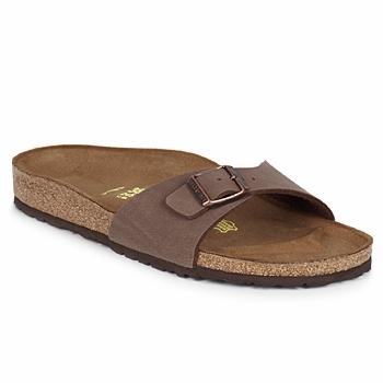 Topánky Šľapky Birkenstock MADRID Hnedá