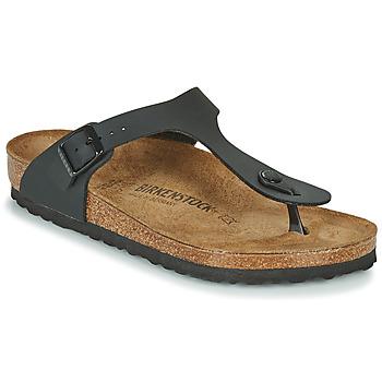 Topánky Ženy Žabky Birkenstock GIZEH čierna