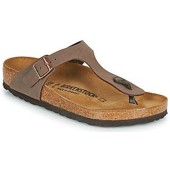 Topánky Ženy Žabky Birkenstock GIZEH Hnedá