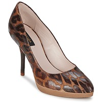 Topánky Ženy Lodičky Escada AS701 Hnedá / Leopard