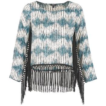 Oblečenie Ženy Tričká s dlhým rukávom Mexx AMBRELI Modrá