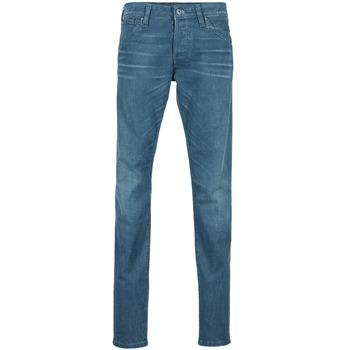Oblečenie Muži Džínsy Slim Jack & Jones GLENN JEANS INTELLIGENCE Námornícka modrá