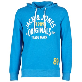Oblečenie Muži Mikiny Jack & Jones ATHLETIC SWEAT ORIGINALS Modrá