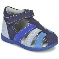 Topánky Chlapci Sandále Kickers BABYSUN Námornícka modrá / Modrá