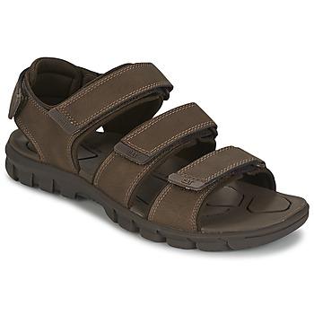Topánky Muži Sandále Caterpillar ENTRANT Hnedá
