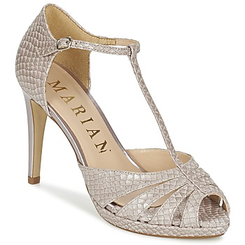 Topánky Ženy Sandále Marian CHANVRO Béžová / Hadí vzor
