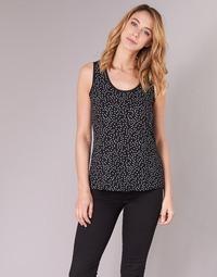 Oblečenie Ženy Blúzky Moony Mood EZTEL Čierna / Biela