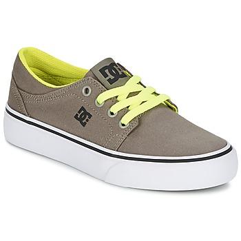 Topánky Chlapci Nízke tenisky DC Shoes TRASE TX Hnedošedá