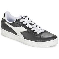 Topánky Nízke tenisky Diadora GAME L LOW Čierna / Biela