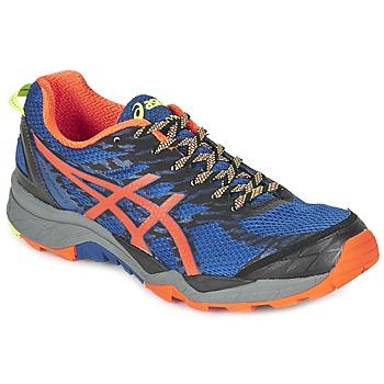 Topánky Muži Bežecká a trailová obuv Asics GEL-FujiTrabuco 5 Modrá