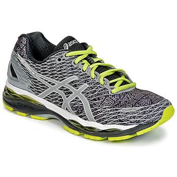 Topánky Muži Bežecká a trailová obuv Asics GEL-NIMBUS 18 LITE-SHOW šedá