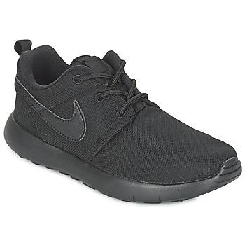 Topánky Chlapci Nízke tenisky Nike ROSHE ONE CADET čierna